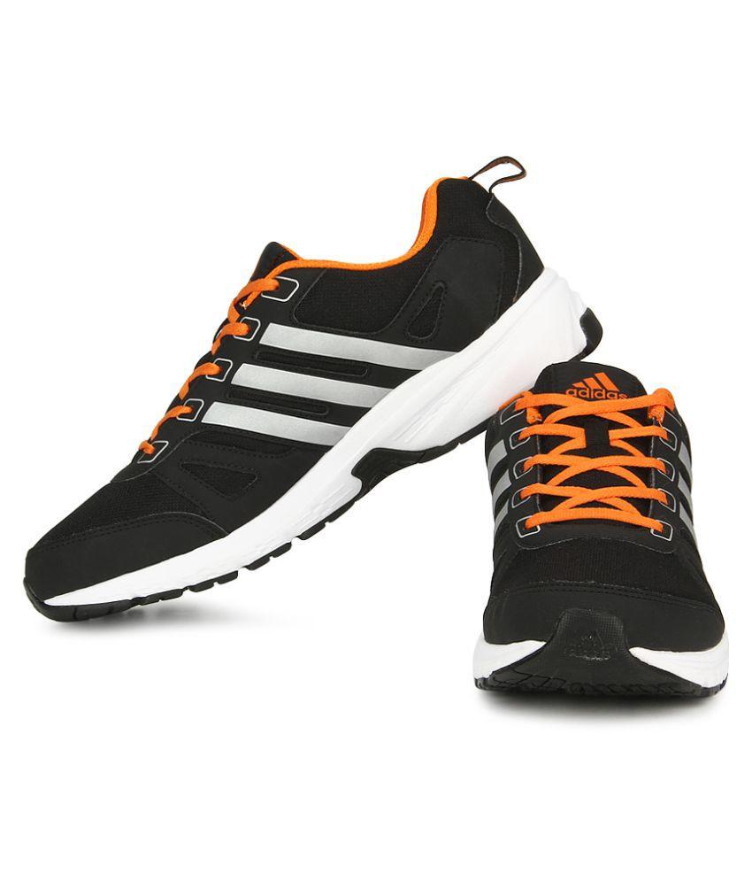 cheap gt adidas black running shoes
