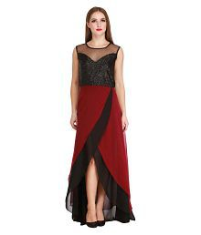 2199066959d52 Maroon Gowns  Buy Maroon Gowns for Women Online on Snapdeal.com