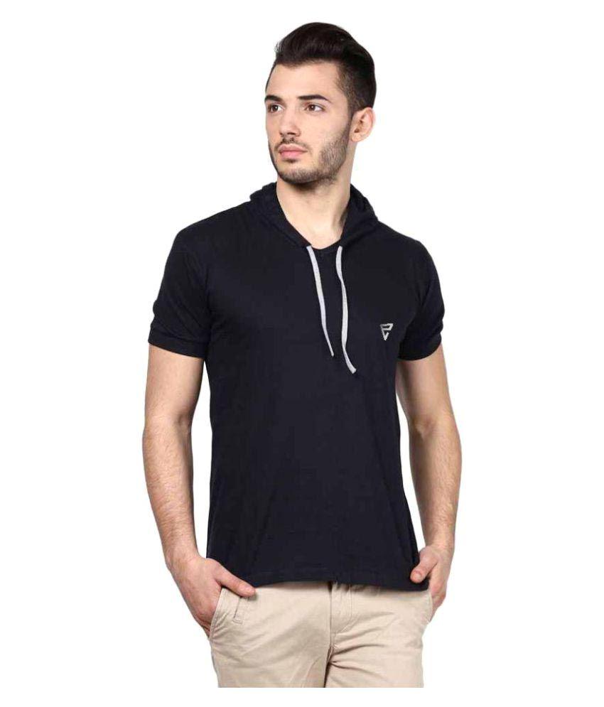 Eposch Navy Hooded T-Shirt