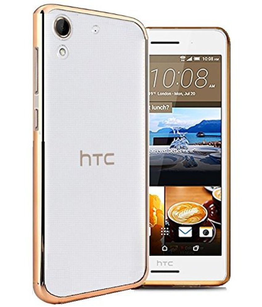 HTC Desire 626 Cover by Galaxy Plus - Golden