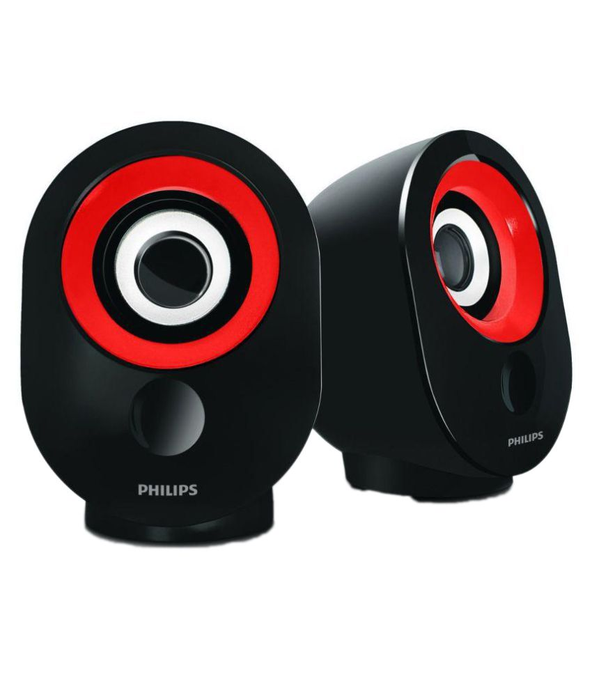 Philips SPA 50 Portable Speaker - Red
