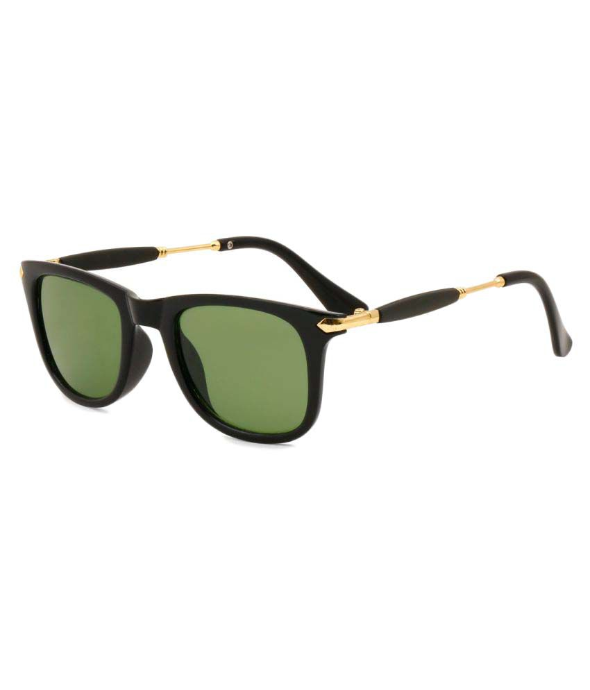 Royal Son Green Square Sunglasses ( WHAT3775 )