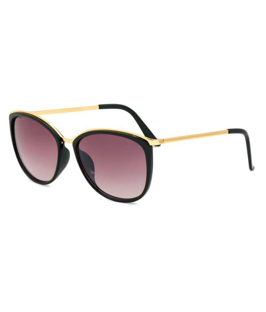 Royal Son Purple Square Sunglasses ( WHAT3540 )