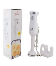 Orpat HHB-100E WOB 250-Watt Hand Blender (White)
