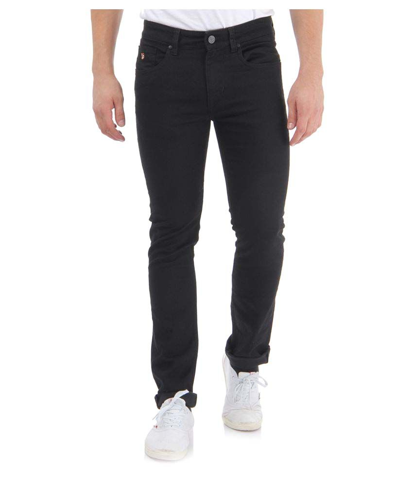 U.S. Polo Assn. Black Skinny Solid