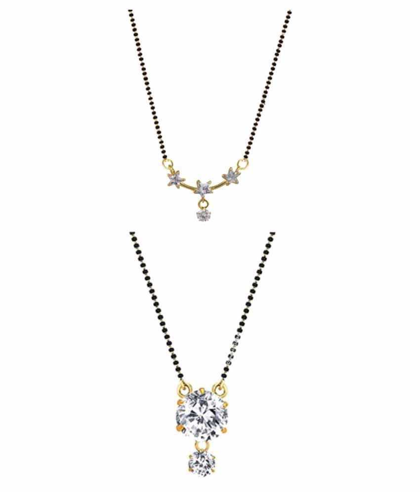 Archi Collection Multicolor Mangalsutra Pack Of 2