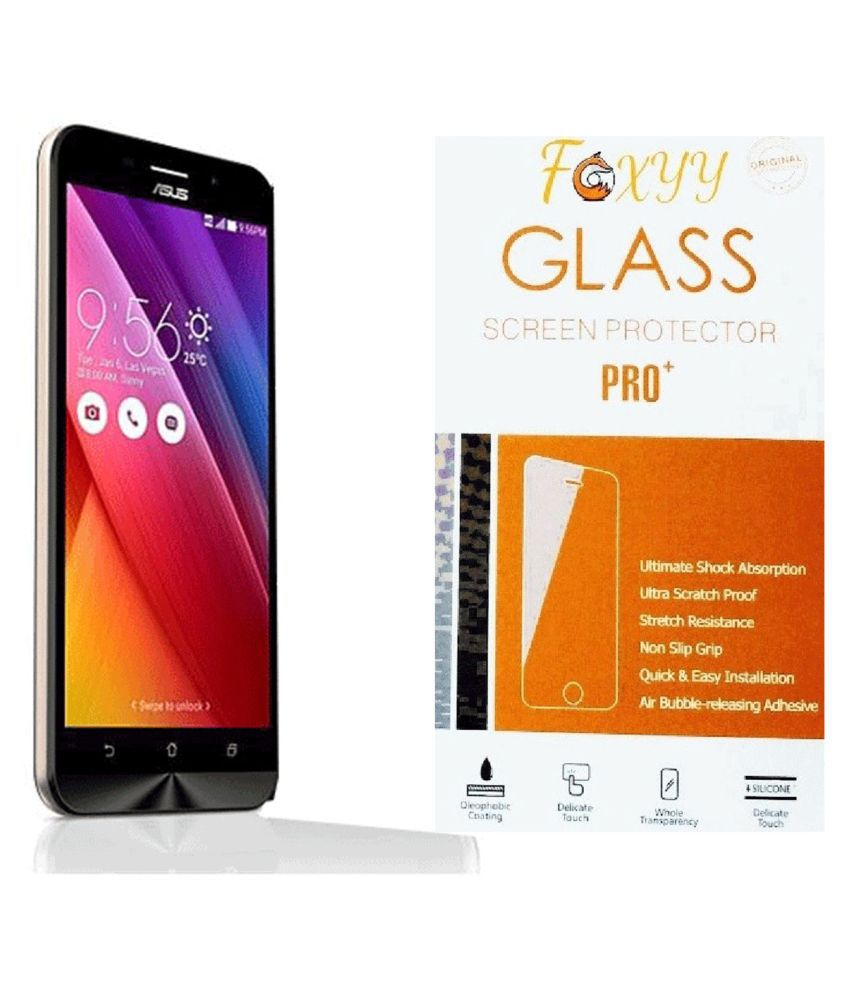 Asus Zenfone Max Tempered Glass Screen Guard By Foxyy