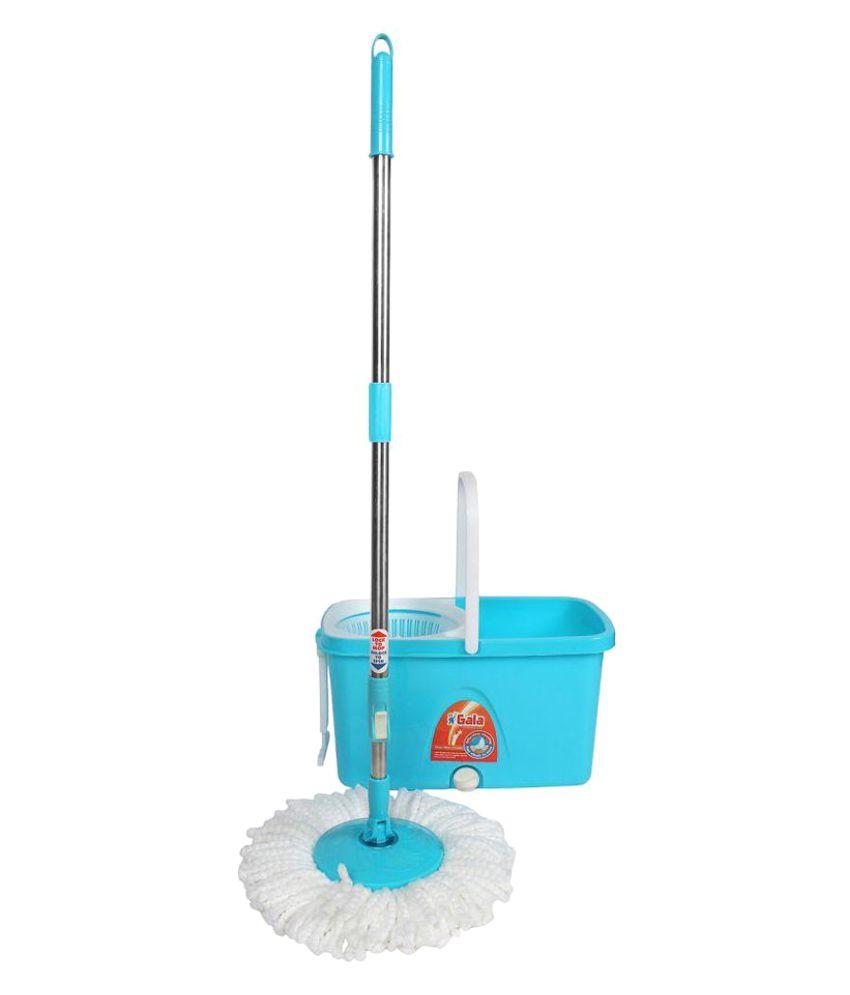 Gala Mop Single Bucket Mop 360 degree Cleaning.Adjustable Handle.