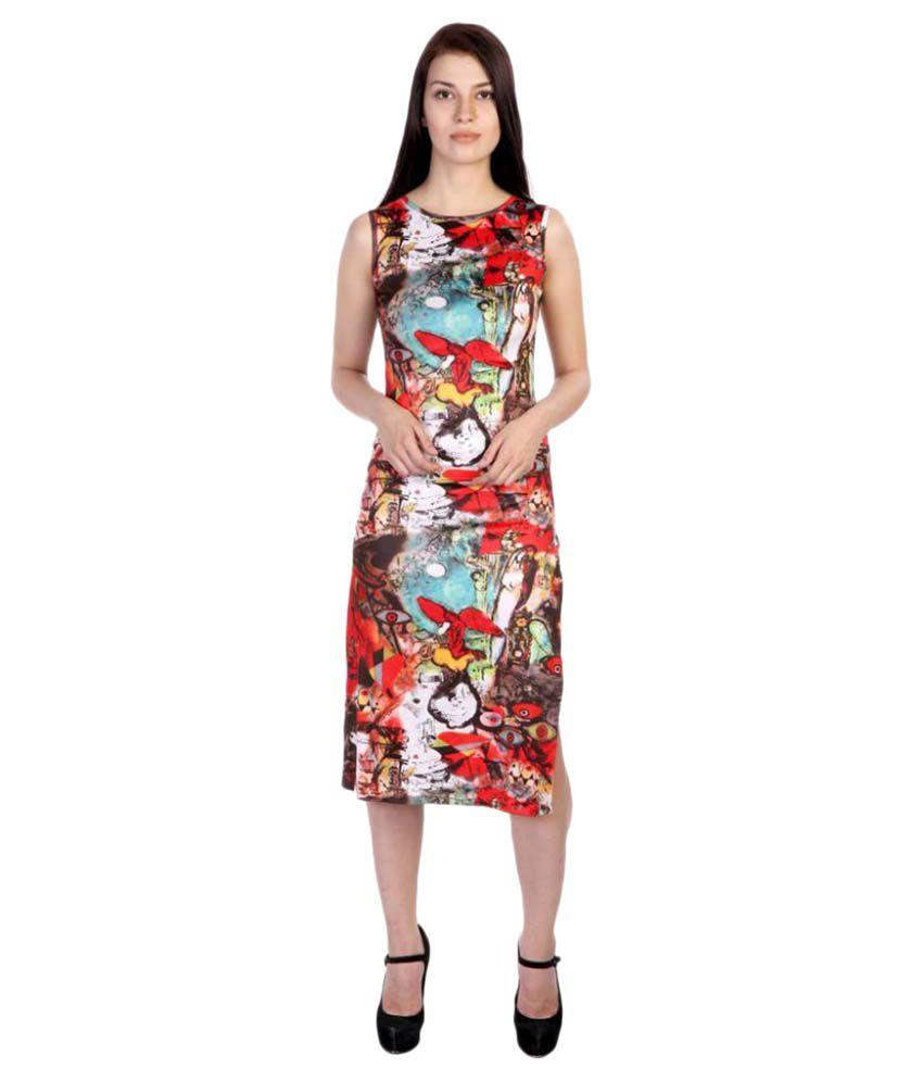 Hugo Chavez Cotton Lycra Dresses