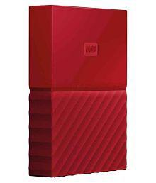 WD My Passport 2 TB USB 3.0 Red
