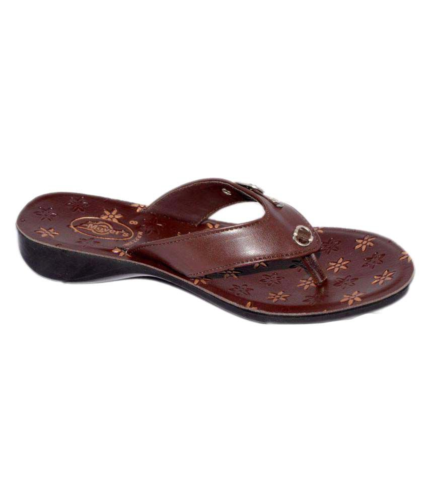 Movers Brown Slippers