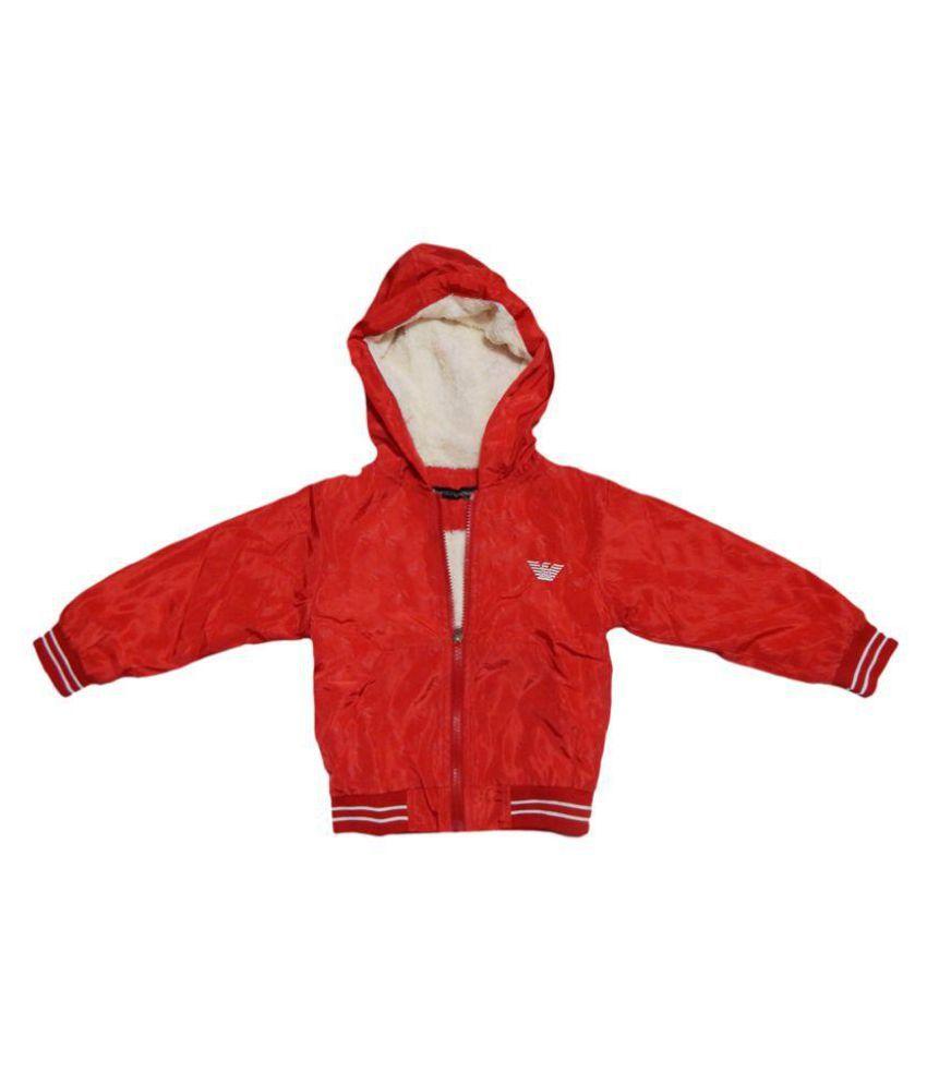 Giorgio Armani  Red Furr Jacket