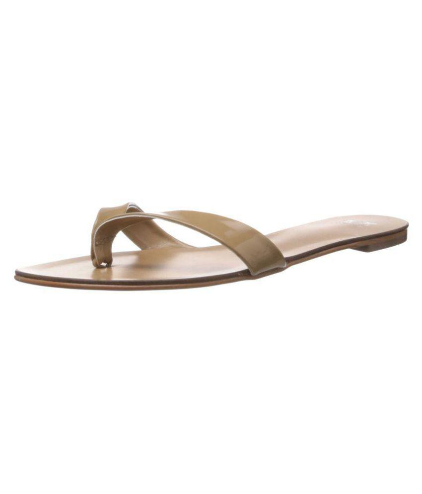 Saint G Beige Slippers