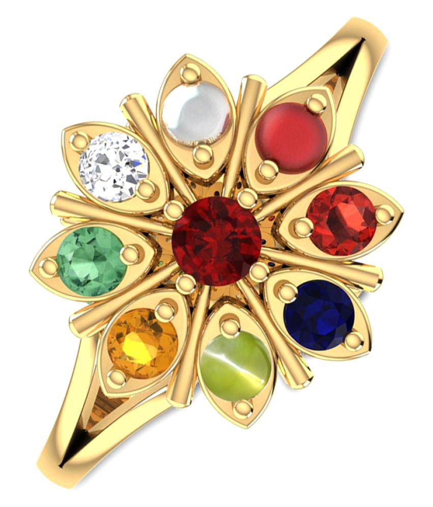 Peenzone 18k Yellow Gold Ring
