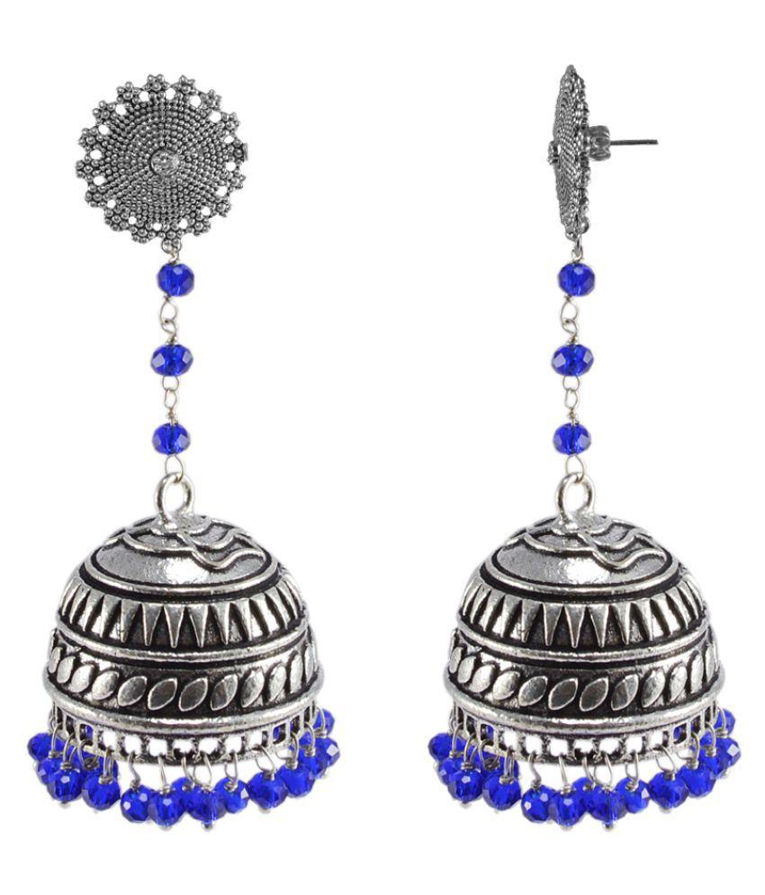 Silvesto India Multicolor Earrings