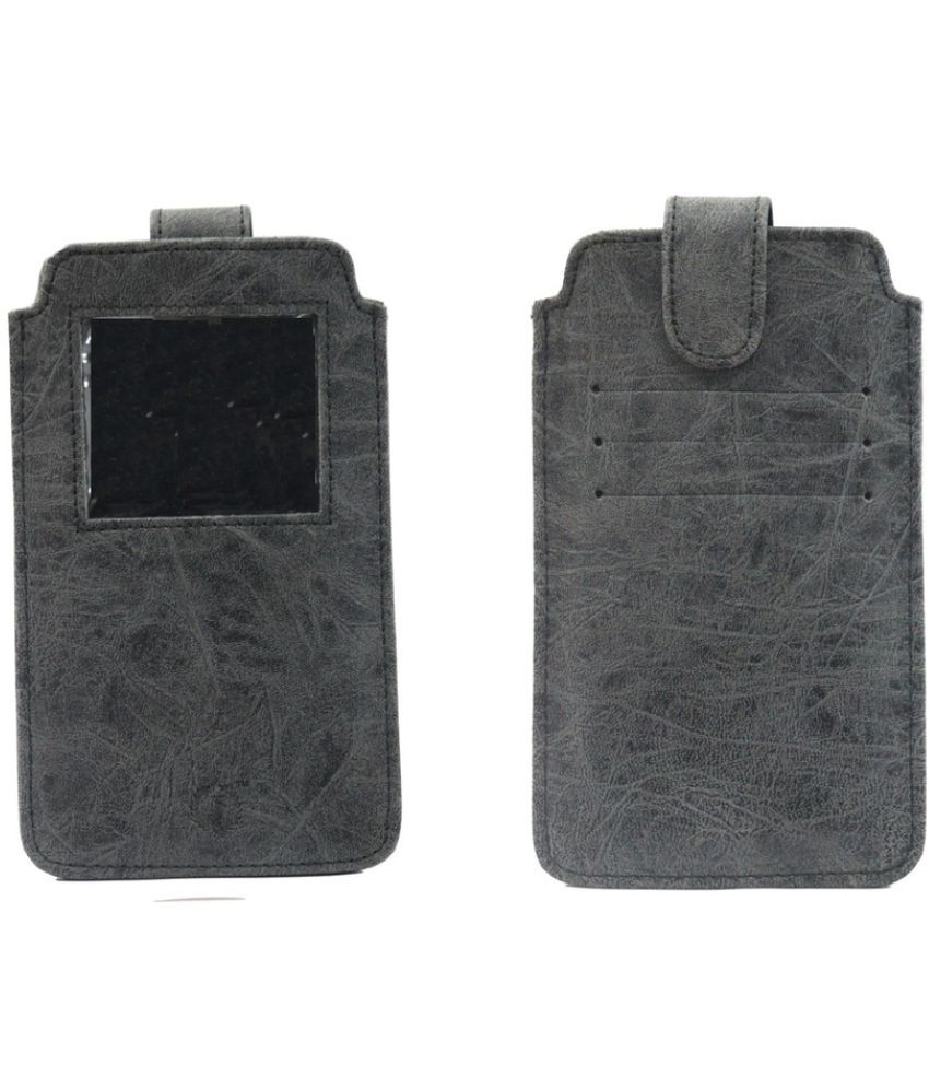 Xolo A500L Holster Cover by Jojo - Grey