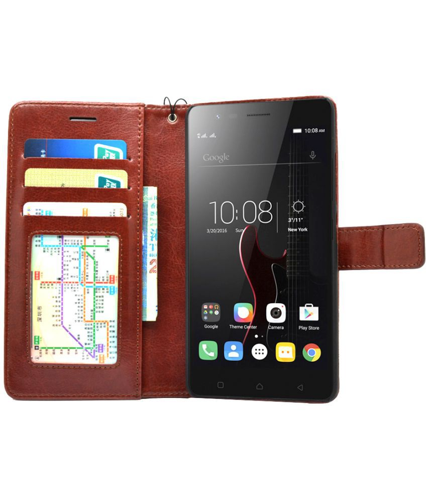 best authentic 93282 0094c Lenovo Vibe X3 Flip Cover by BOUNCE BACK - Brown - Flip Covers ...