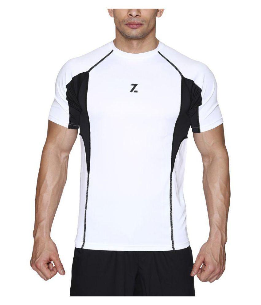 Azani Men's Sub-Zero Tech Short Sleeve T-Shirt Black/White