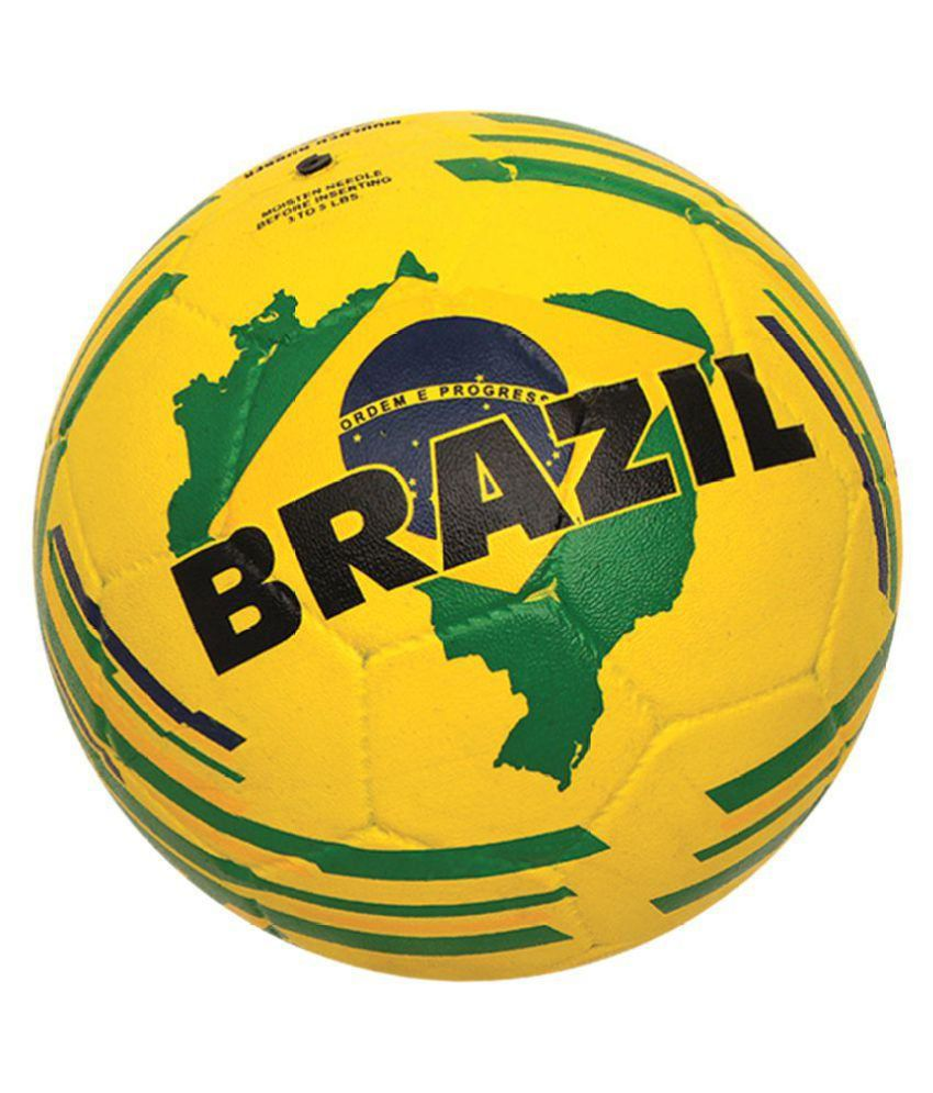 Nivia Brazil Football / Ball Assorted Football / Ball Size  5 1360BR