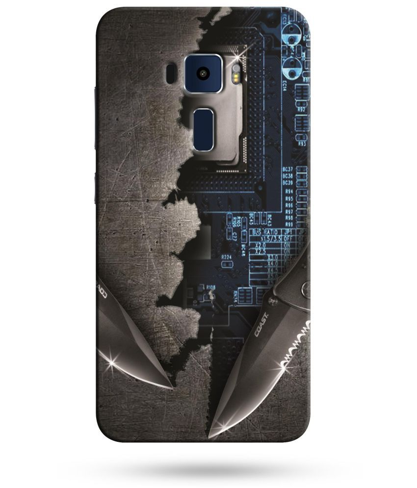 Asus Zenfone 3 Laser ZC551KL Printed Cover By ALDIVO