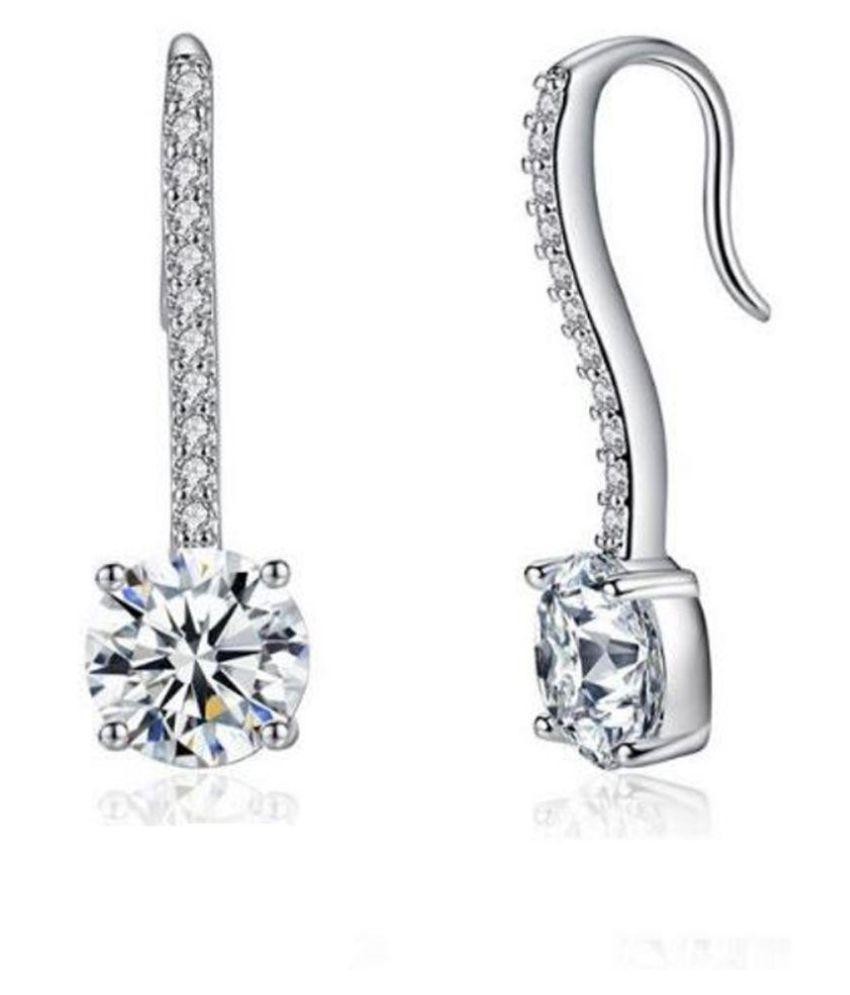 Karatcart Silver Earrings