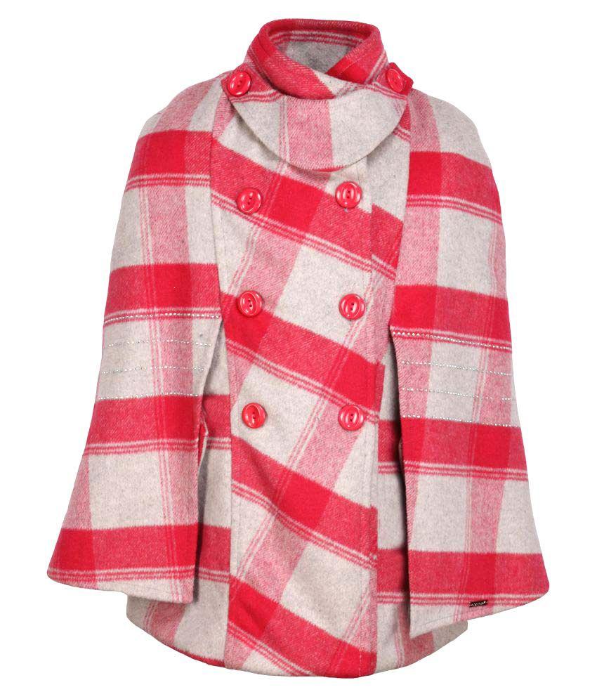 Cutecumber Multicolour Polyester Coat