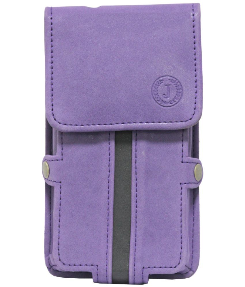 LG K7 Holster Cover by Jojo - Purple