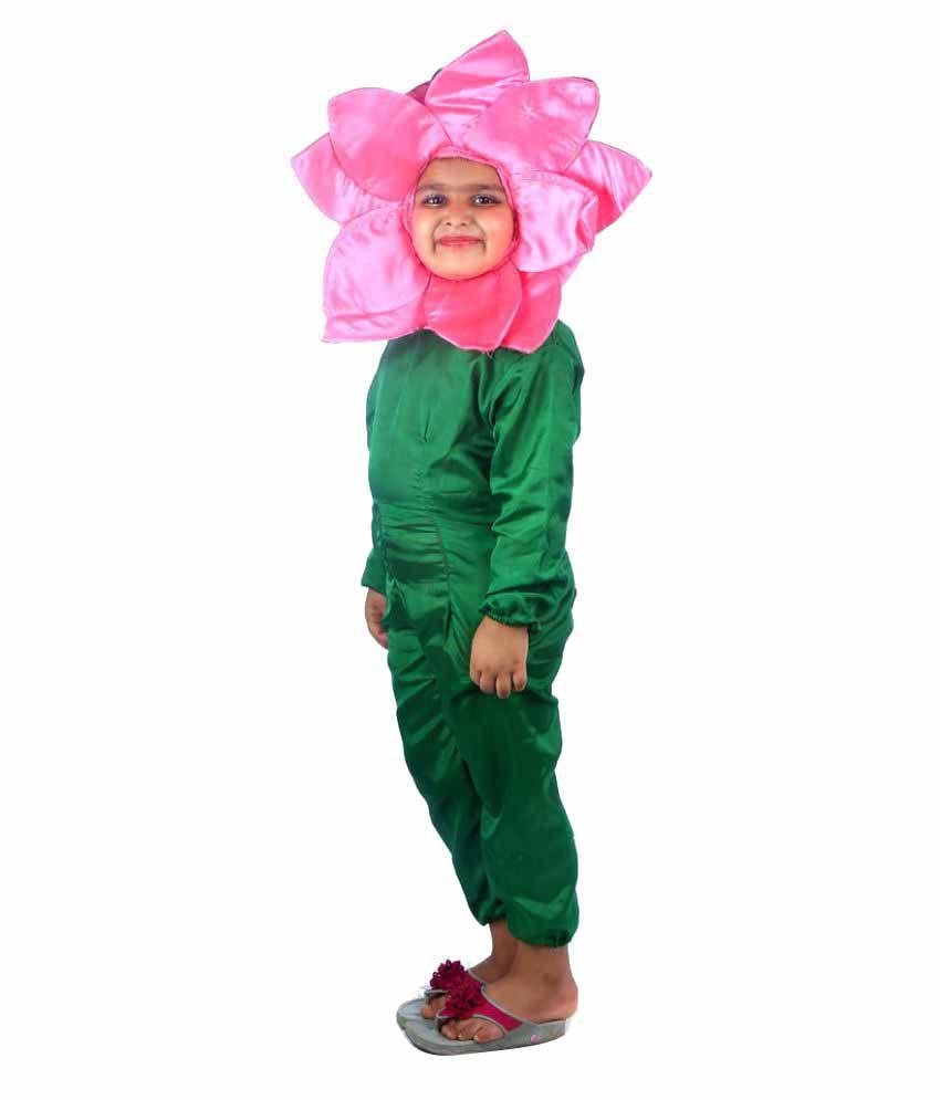 Shree balaji dresswala pink lotus flower fancy dress costume buy shree balaji dresswala pink lotus flower fancy dress costume mightylinksfo