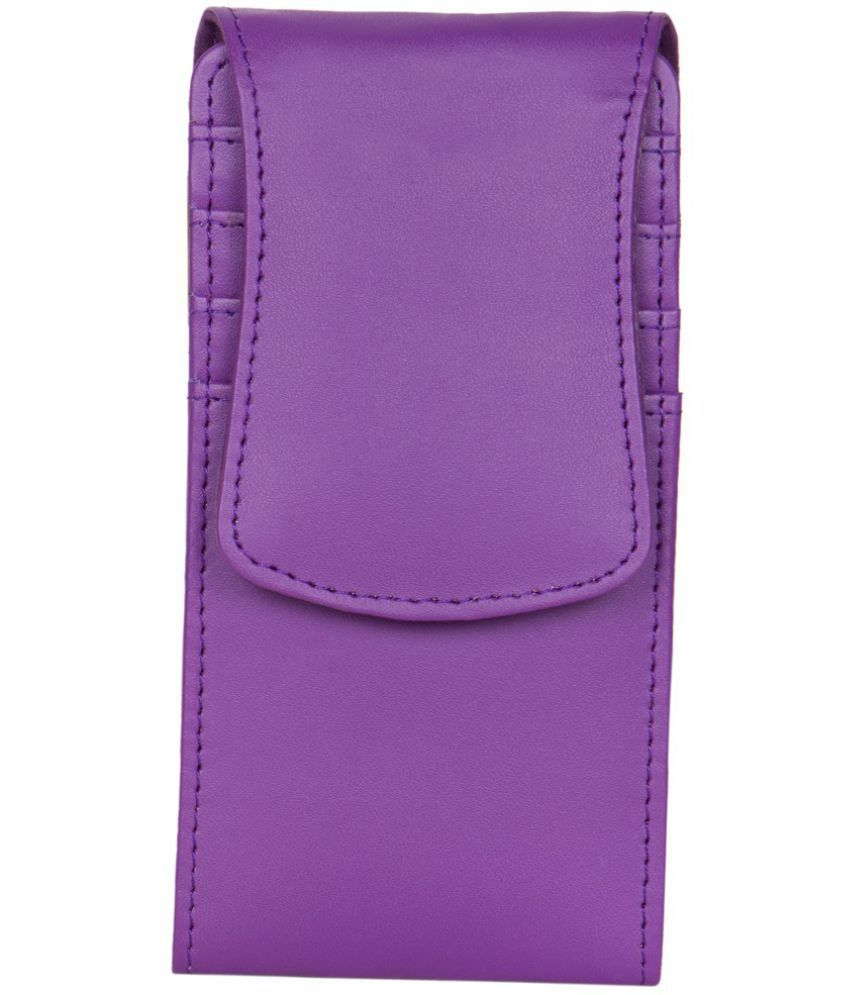 Celkon A59 Holster Cover by Senzoni - Purple