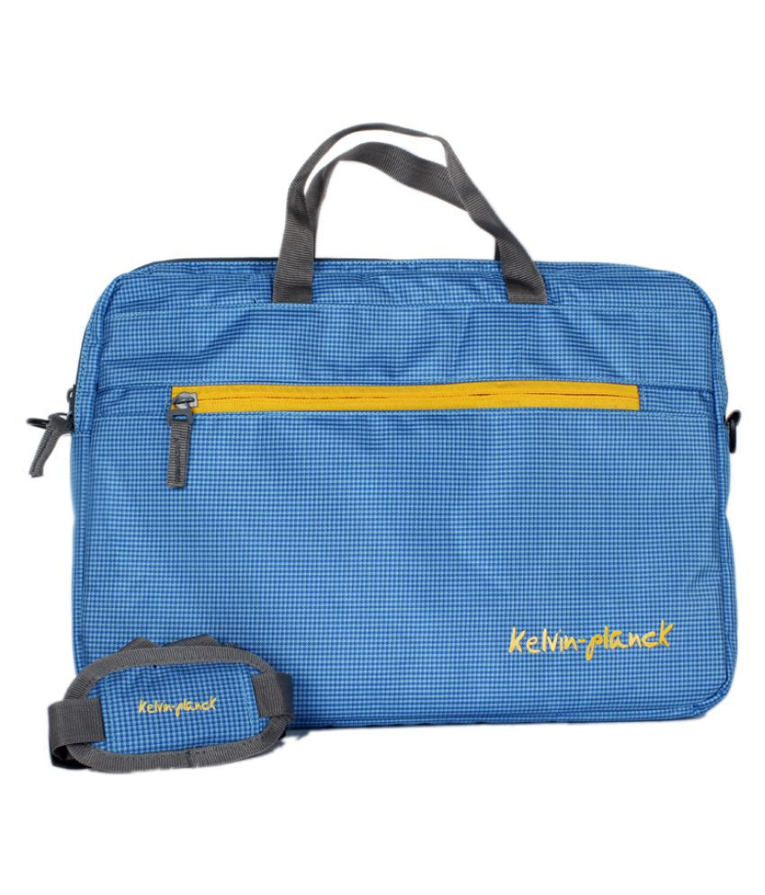 Kelvin Planck Blue Laptop Sleeves