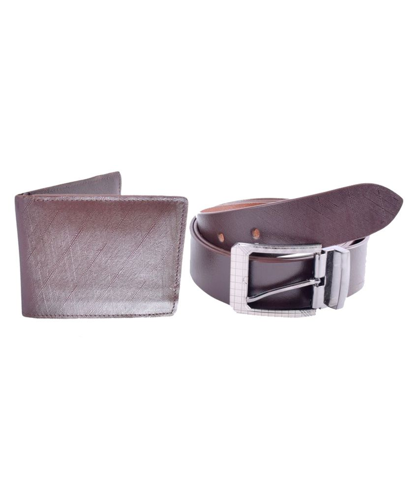 Kern Brown Leather Casual Belts