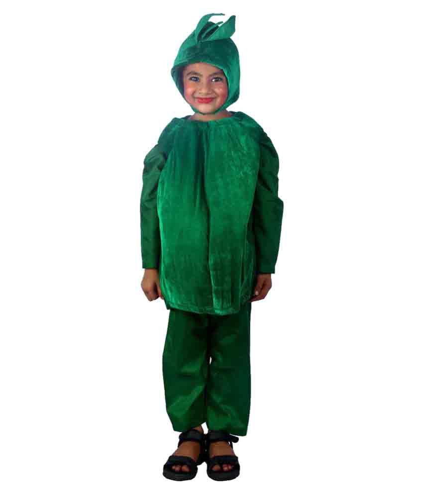 SBD Green Vegetable Capsicum Costume For Kids ...  sc 1 st  Snapdeal & SBD Green Vegetable Capsicum Costume For Kids - Buy SBD Green ...