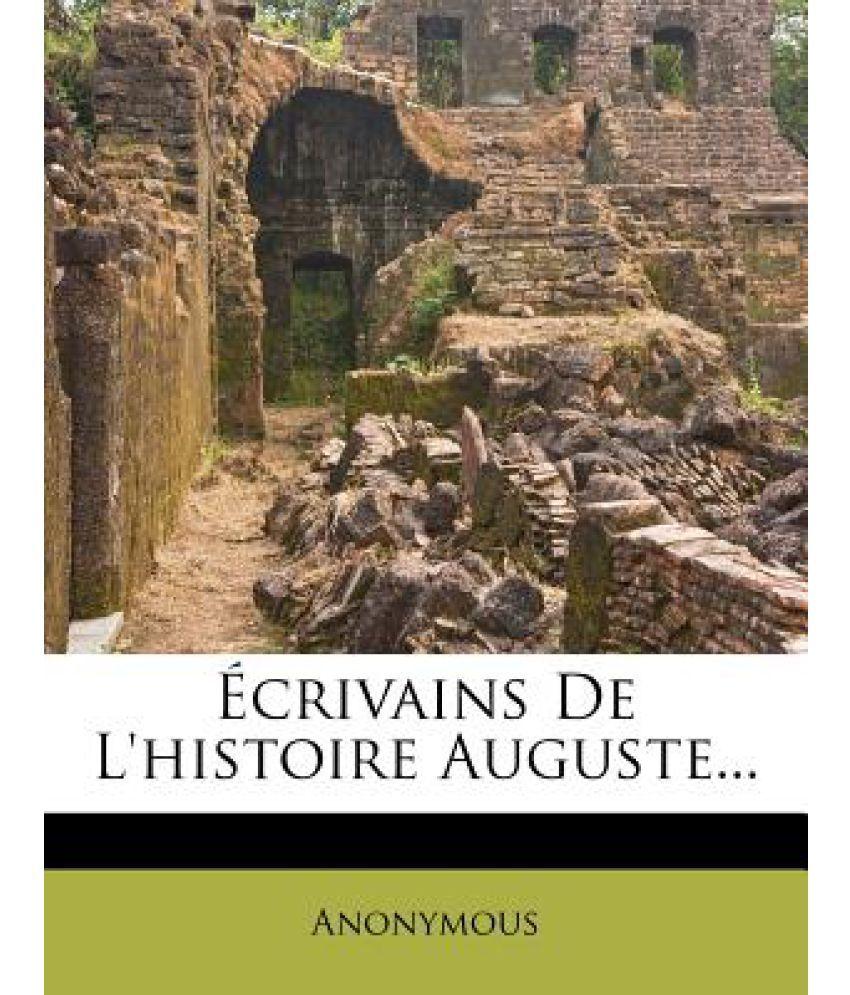 Ecrivains de L'Histoire Auguste...