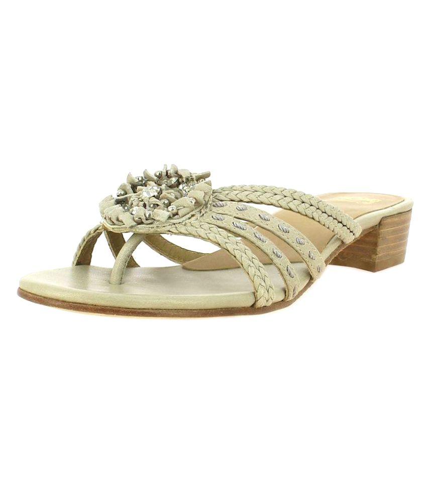 SAINT G Gray Slippers