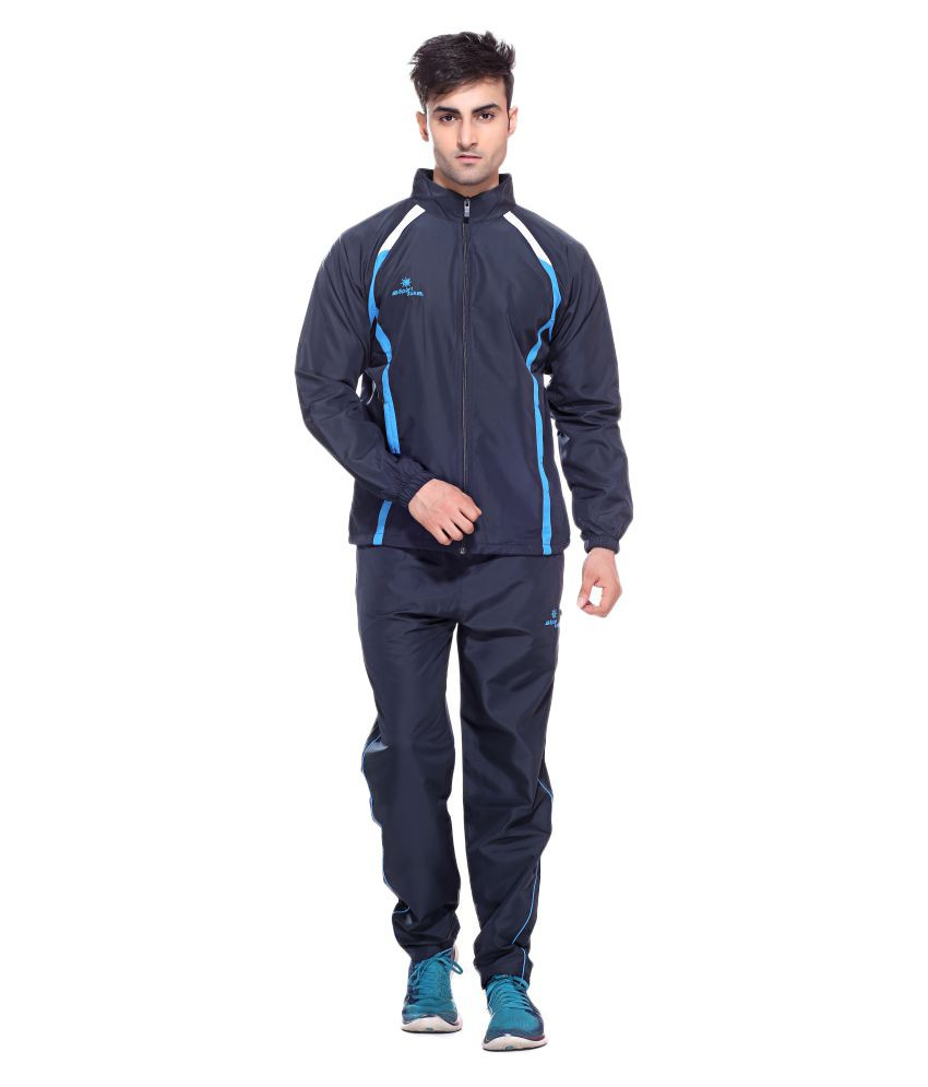 Sport Sun Sports Wear Navy Micro Active Tracksuit