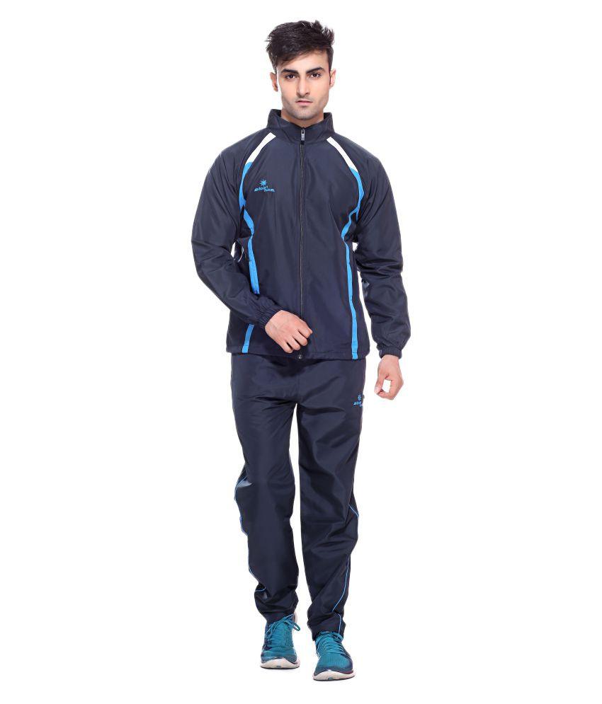 Sport Sun Sports Wear Navy Micro Active Tracksuit