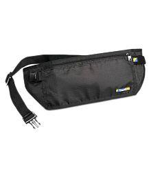 Travel Blue Security Money Belt Polyester Black Waist Pouch