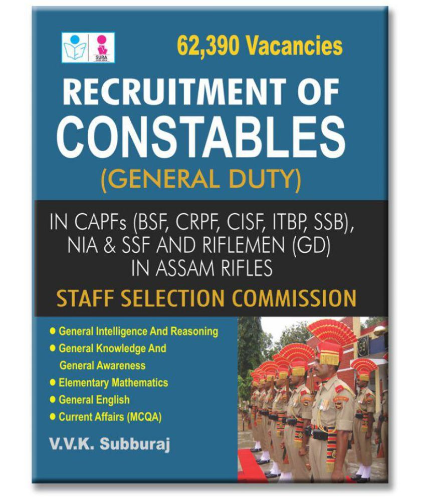 SSC Constables General Duty (GD) English Exam Book