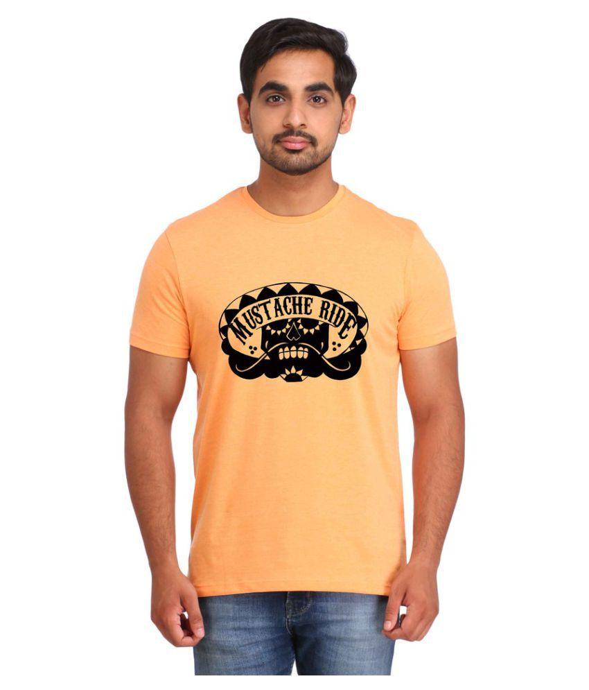 Snoby Yellow Round T-Shirt