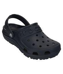 Crocs Black Clogs For Kids