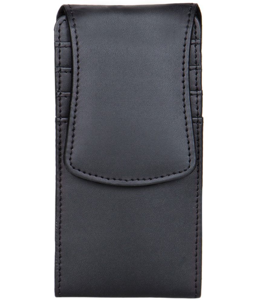 Alcatel One Touch Scribe Easy 8000D Holster Cover by Senzoni - Black