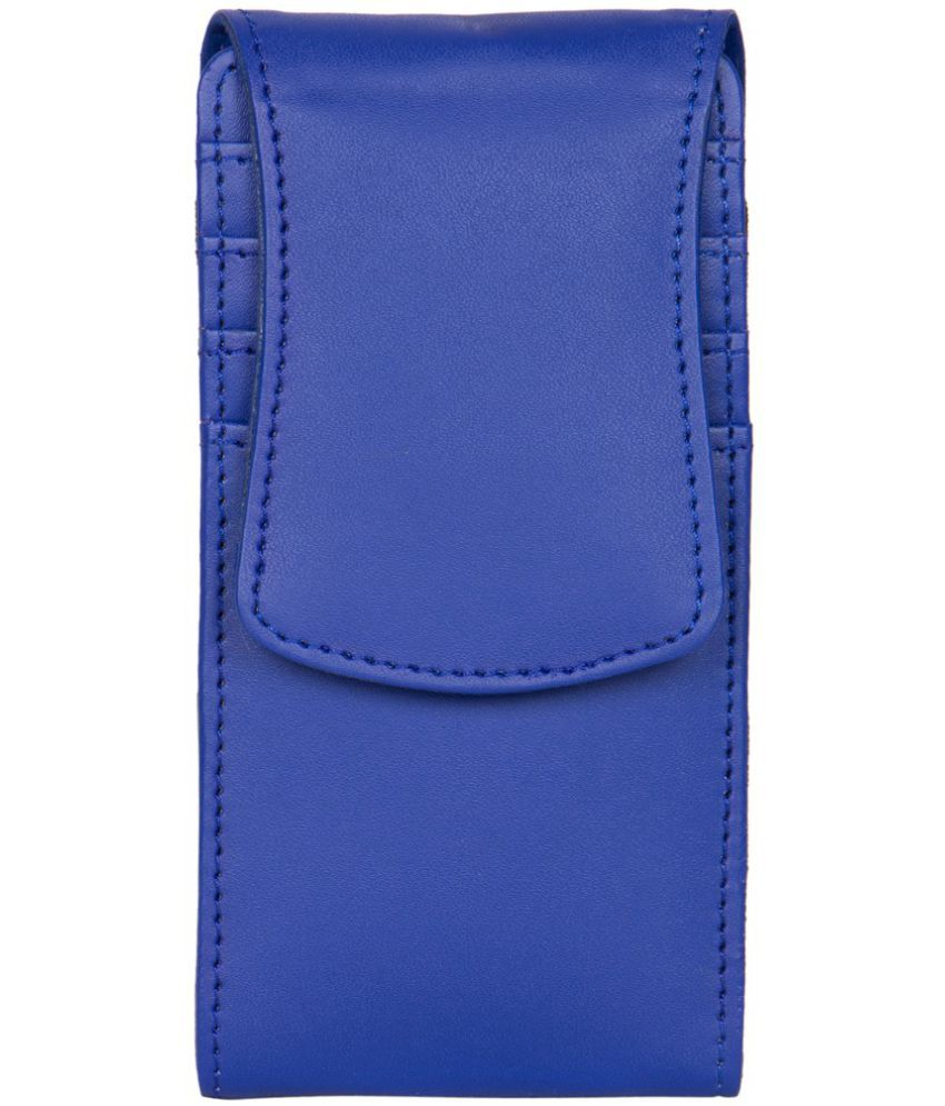 Micromax Joy X1800 Holster Cover by Senzoni - Blue