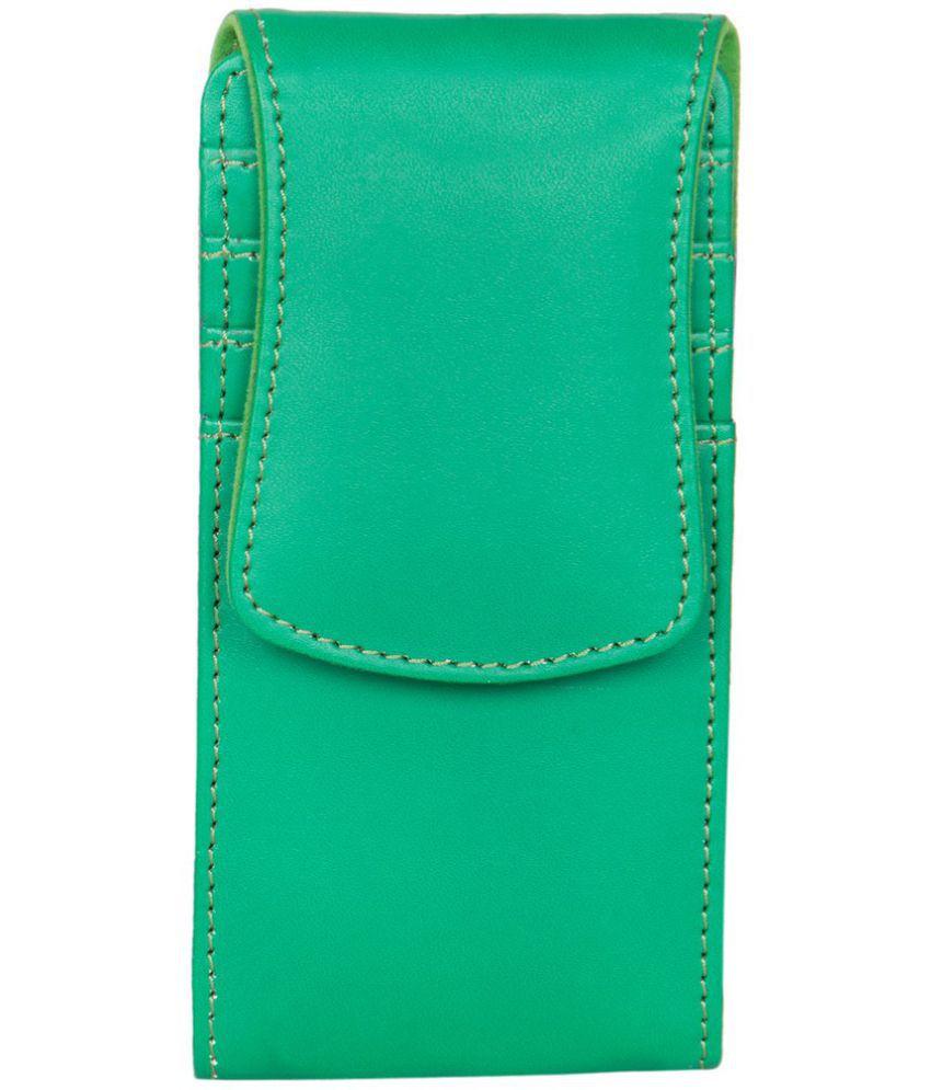 Karbonn KT62 - Holster Cover by Senzoni - Green