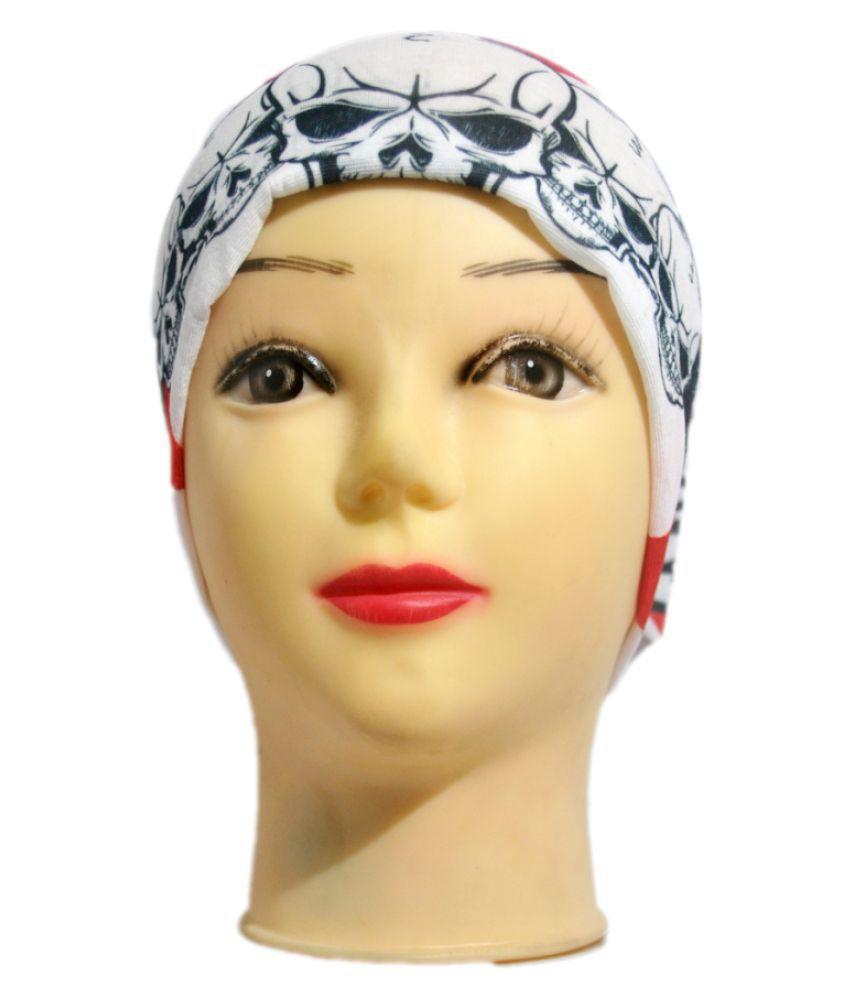 Korni Multi Printed Nylon Headwraps