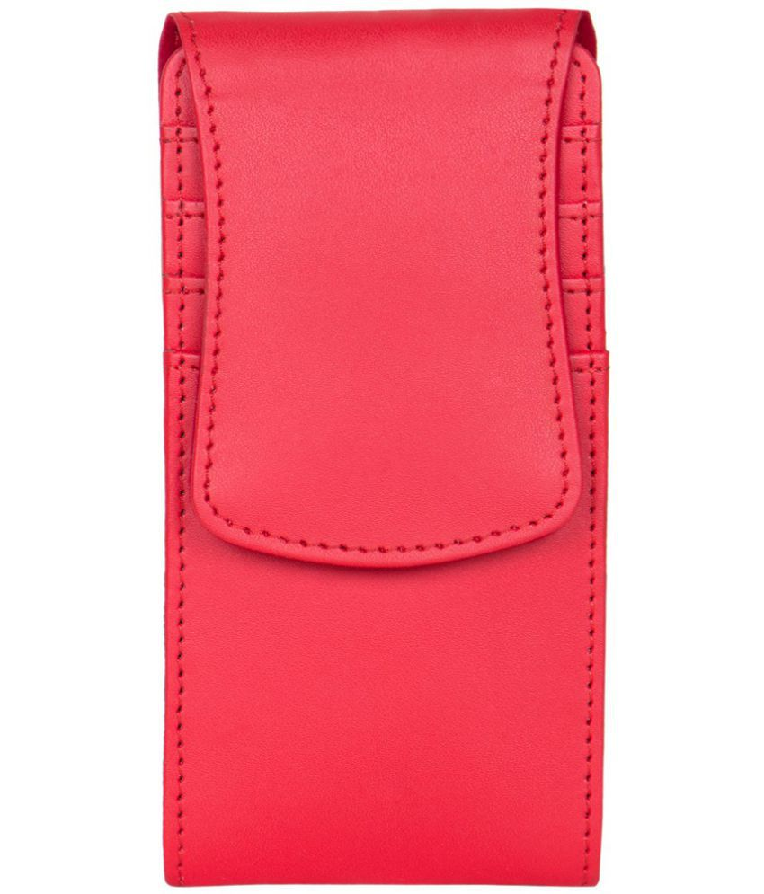 Karbonn A91 Holster Cover by Senzoni - Red