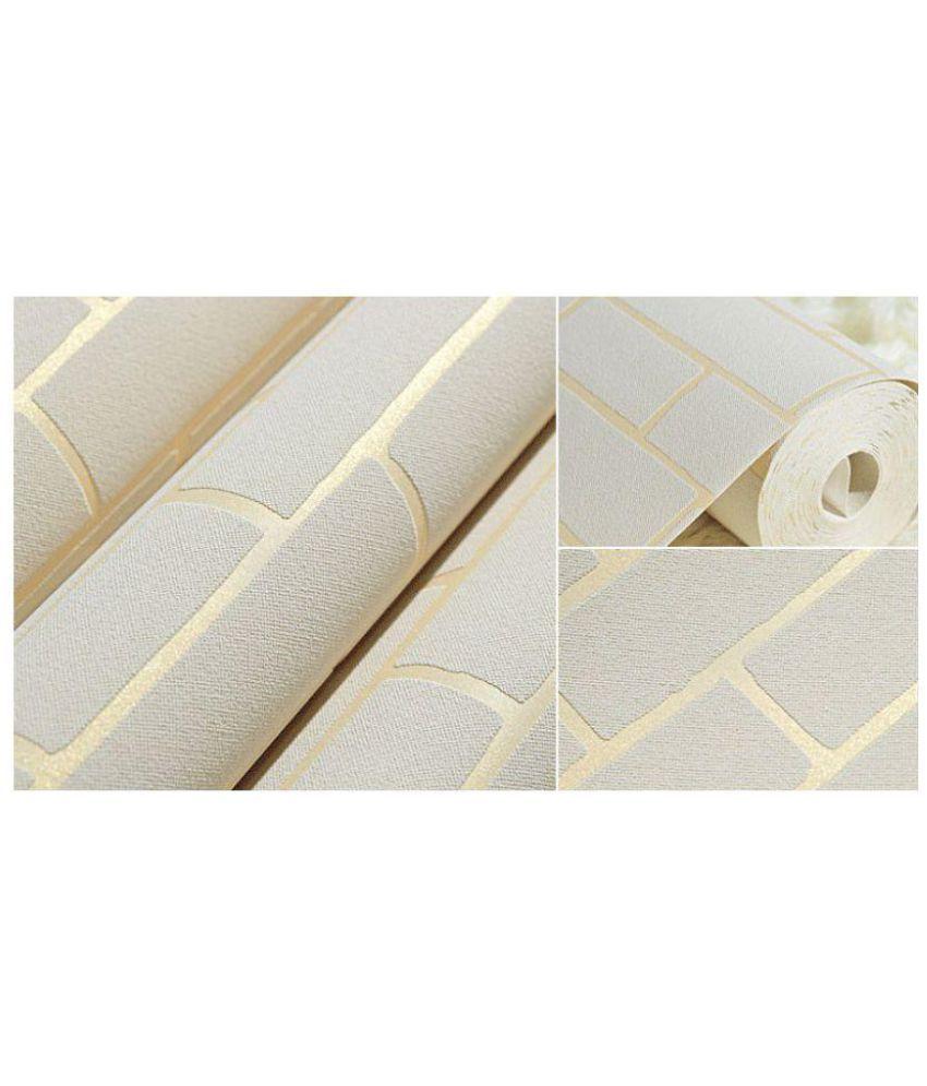 Orizin Modern Mediteranean Brick Design Wallpaper Fabric Wall