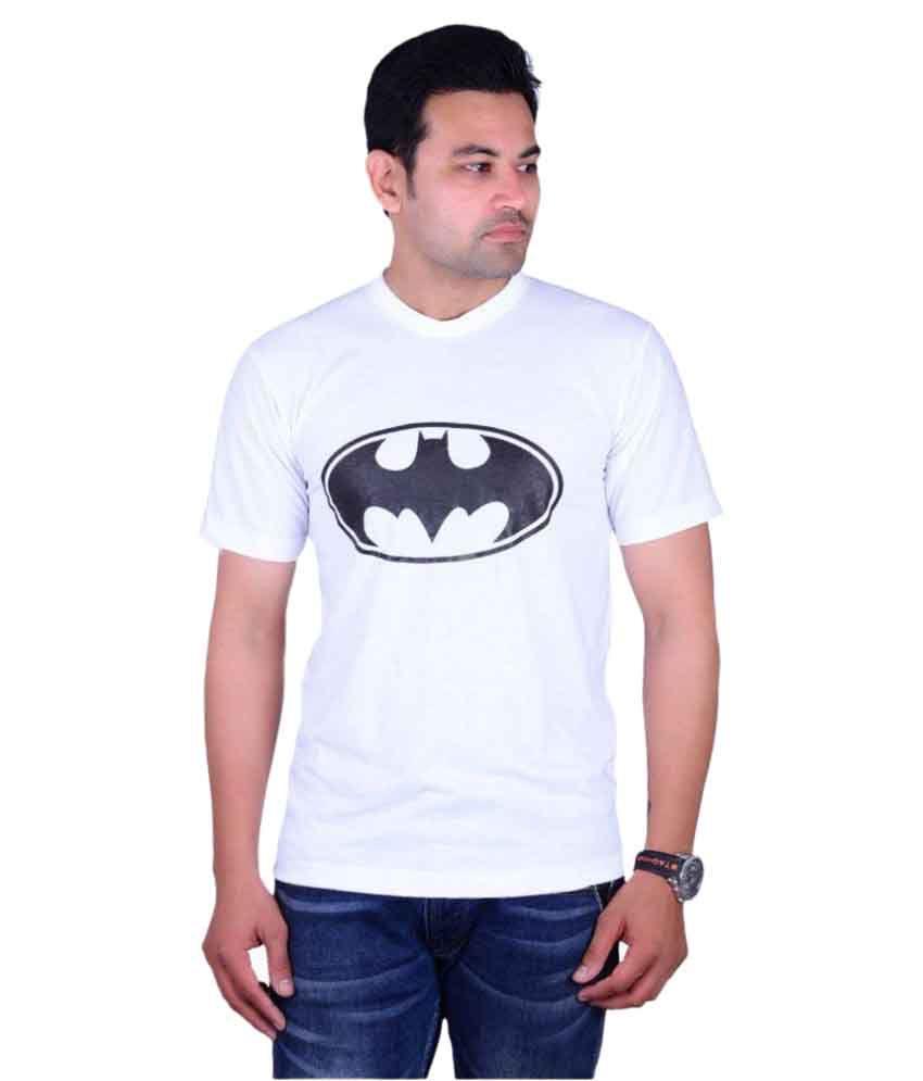 Aragon White Round T-Shirt