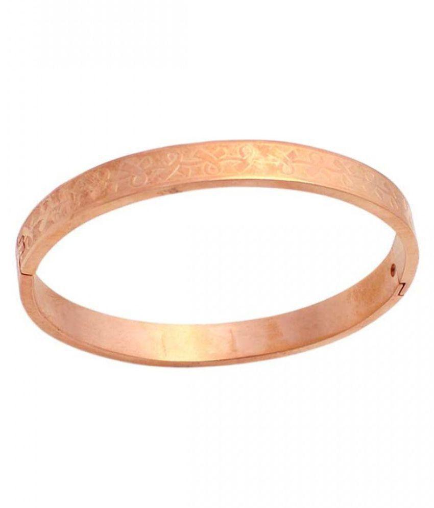 Sanaa Creations Men/Boy Stylish Adjustable Self Design Gold Plated ...