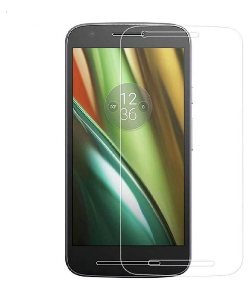 Moto E3 Tempered Glass Screen Guard By Kosher Traders