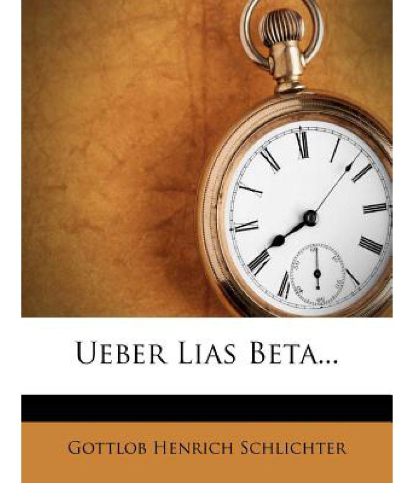 Ueber Lias Beta...